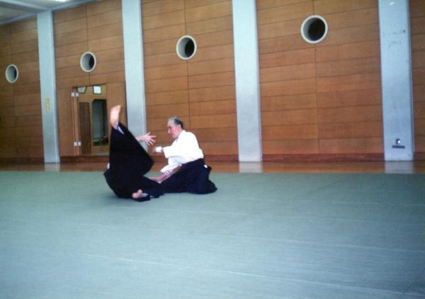 Asoh Kinjo Shihan in action